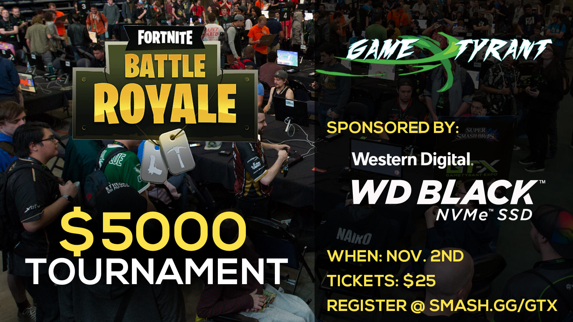 Western Digital's Fortnite Tournament @ GT-X